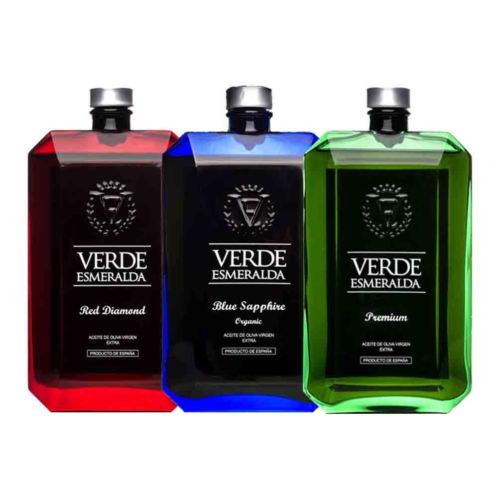 verde esmeralda pack